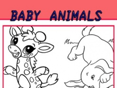 Coloring Pages Baby Animals For Kids 1.0 Screenshot