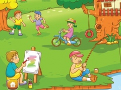 Colouring Me: Children Playground 1.0 Screenshot