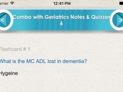Combo with Geriatrics Exam Prep 4500 flashcards 1.0 Screenshot