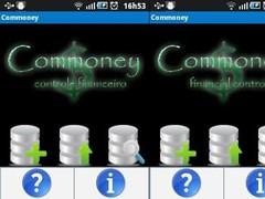 Commoney 1.11 Screenshot