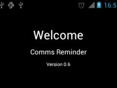 Comms Reminder 1.0 Screenshot