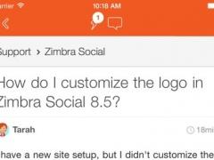 Communities at Zimbra 1.0.111122 Screenshot