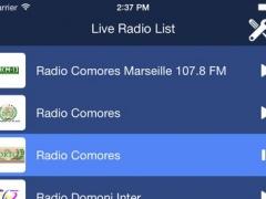 Comoros Radio Live 1.0 Screenshot