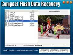 Compact Flash Data Recovery 2.93 Screenshot