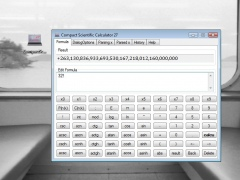 Compact Scientific Calculator 27 1.0.1.0 Screenshot