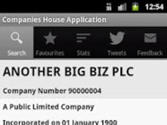 Companies House 2.05 Screenshot