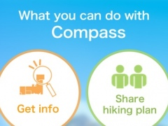 Compass- Mountain & Nature Network and Japanese mountains and nature associations. 2.1.0 Screenshot