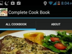 Complete Cookbook 1.0 Screenshot