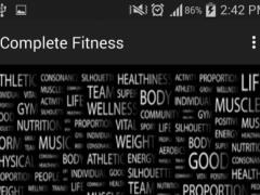 Complete Fitness 1.0 Screenshot