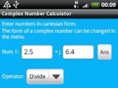 Complex Number Calculator 2.0.0 Screenshot