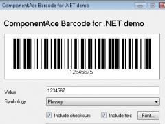 ComponentAce Barcode .NET 1.00 Screenshot