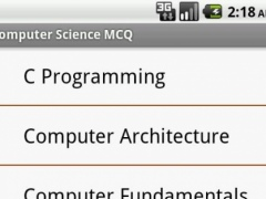Computer Science MCQ 1.0.8 Screenshot