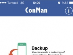 ConMan - Contacts Manager 1.1 Screenshot
