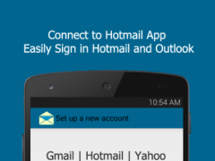 Connect for Hotmail App 1.1 Screenshot