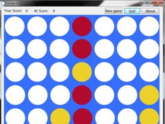 Connect Four With AI  Screenshot