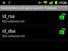 ConnectBot (ssh-agent) 1.7.1 Screenshot