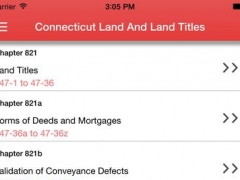 Connecticut Land And Land Titles 1.0 Screenshot