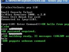 Console telnet 2.0 Screenshot