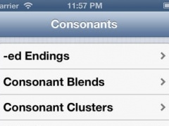 Consonant Clusters In English Pronunciation 1.0 Screenshot