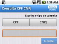 Consulta CPF / CNPJ 1.8.08 Screenshot