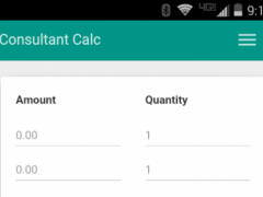 Consultant Order Calculator 1.1.0 Screenshot