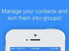 Contact Cleaner - Delete duplicates, merge contacts, sync with Facebook, and backup address book 1.0 Screenshot