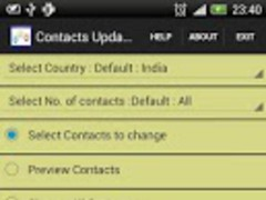 Contact Updater Utility 1.1 Screenshot
