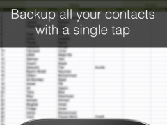 Contacts Backup--Excel & Email 2.3.3 Screenshot