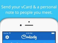 Contacty (sends your vCard via text) 1.2.2 Screenshot