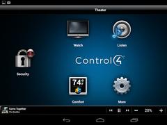 Control4® MyHome 2.5.6.8 Screenshot