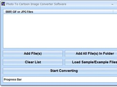 Photo To Cartoon Image Converter Software 7.0 Screenshot