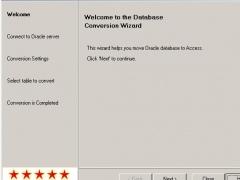 Convert Oracle to Access 4.0 Screenshot