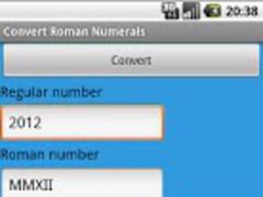 Convert Roman Numerals 1.08 Screenshot