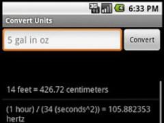 Convert Units 1.2 Screenshot