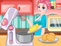 Cooking Valentine cookies-cook games 1.0 Screenshot
