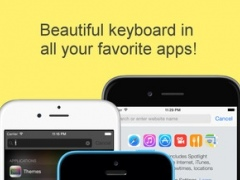 Cool Color Keyboards and Key Themes for iPhone and iPad 2.0 Screenshot