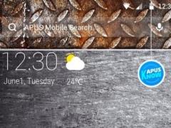 Cool Metal-APUS Launcher theme 3 Screenshot