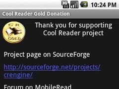 Cool Reader Gold Donation 1.1 Screenshot