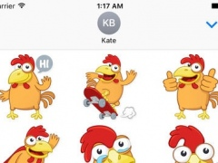 Cooper The Rooster Stickers 1.0 Screenshot