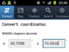 Coordinate Tools 1.1 Screenshot