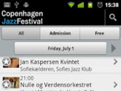 Copenhagen Jazz Festival 2011 1.6 Screenshot