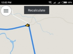 Review Screenshot - GPS App – Reach Any Destination Quickly and Safely