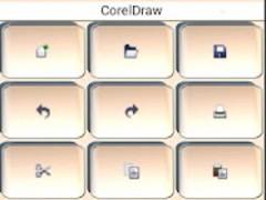 CorelDraw & PhotoPaint Keypad 1.7 Screenshot