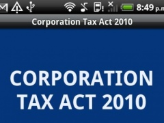 Corporation Tax Act 2010 1.0 Screenshot