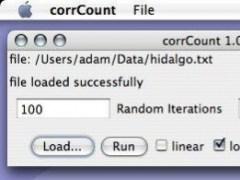 corrCount 1.1 Screenshot