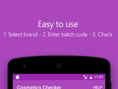 Cosmetics Checker 2 3 2 Free Download