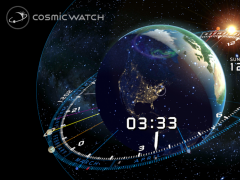 COSMIC WATCH: Time and Space 1.2.3 Screenshot