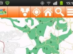 Costa Brava Offline mappa Map 1.13 Screenshot