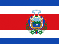Costa Rica Flag Wallpapers 1.0 Screenshot