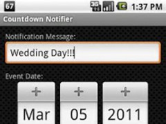 Countdown Notifier 1.0.0 Screenshot